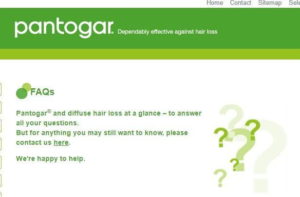 パントガール公式サイトでの男性の服用についての回答