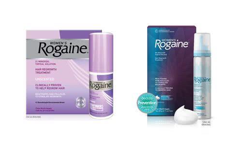 女性用ロゲイン・ローション(液体)とフォーム(泡)タイプ