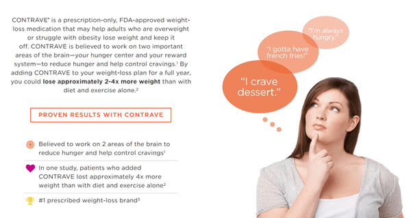 コントレイブは武田薬品工業が開発した最新ダイエット薬