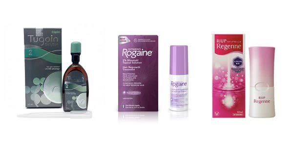 ツゲイン2%・女性用ロゲイン・リアップリジェンヌの比較