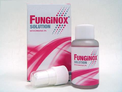 ケトコナゾールソルーション2%(Funginox solution)