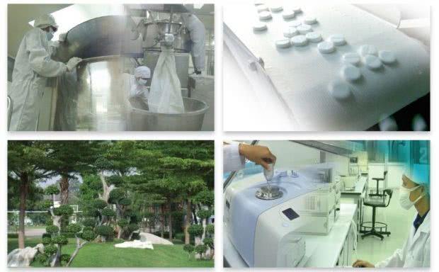 ダンドリンシャンプーの製造メーカーのOsoth Inter Labo社工場