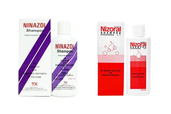 ニナゾルシャンプーとニゾラールシャンプーの違いを比較