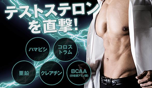 メガマックスマッスルの3つの効果(筋肉増強・身体能力の向上・脂肪燃焼)