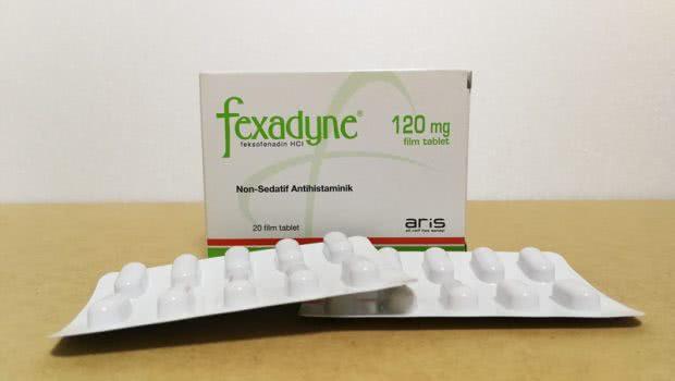アレグラジェネリックのフェクサディン(Fexadyne)120mg